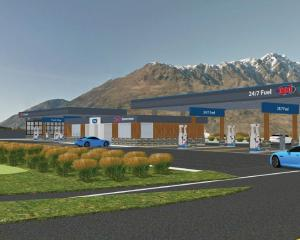 The proposed new petrol station, to be located near the intersection of State Highway 6 and...