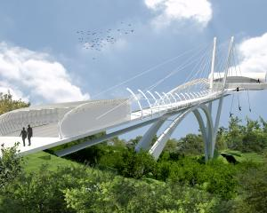 An artist's impression of AJ Hackett International's ``Skypark'', expected to open in Moscow...