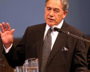 Winston Peters. Photo NZ Herald/file