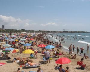 The Mediterranean Coast of Spain is long and hot.
