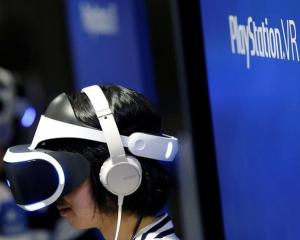 Sony is set to enter the virtual reality market with its own PlayStation VR headset. Photo: Reuters