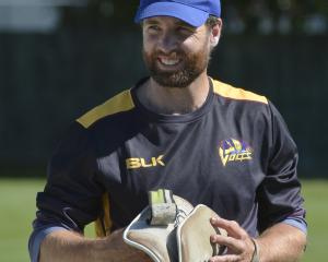 Otago opener Brad Wilson will captain the first-class team this season. Photo by Gerard O'Brien.
