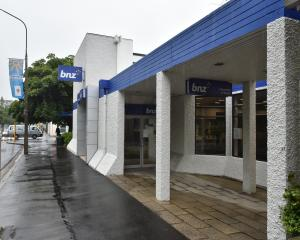 The BNZ in Albany St, which is to close. Photo: Gregor Richardson.