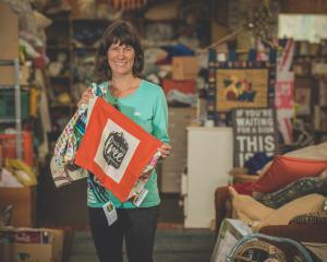 Gina Dempster with some Christmas gift ideas, that can cut waste while supporting a local...