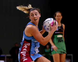 Gina Crampton in action for the Steel. Photo: Getty Images