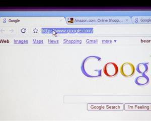 Google Chrome, Google's new web browser, is shown during a news conference at the company's...