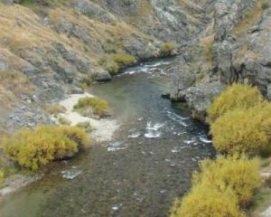 The Nevis River.