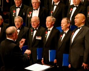 The RSA Choir.
