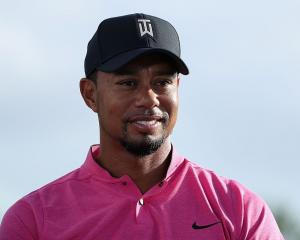 Tiger Woods at the Hero World Challenge. Photo: Getty Images