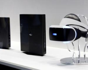 Playstation ventures into the realm of virtual reality with the Playstation VR headset. Photo:...