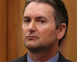 Quinton Paul Winders in the High Court at Rotorua this morning. Photo: Stephen Parker via NZ Herald