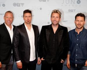 Nickelback. Photo: Reuters