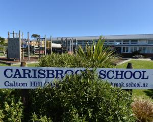 The Carisbrook Heights campus which will close for good at the end of the year because of falling...