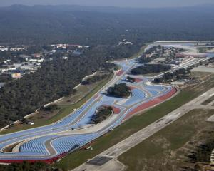 The Paul Ricard circuit at Le Castellet near Marseille. Photo: Reuters