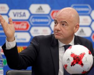 Gianni Infantino. Photo: Reuters