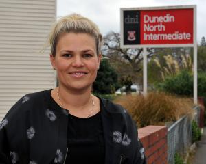 Dunedin North Intermediate principal Heidi Hayward. Photo: Gregor Richardson.