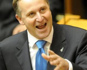 John Key. Photo by NZPA.