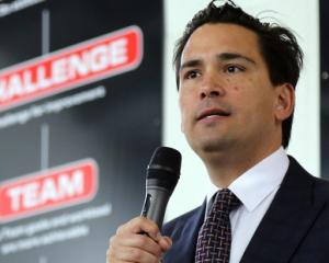 Simon Bridges. Photo NZ Herald