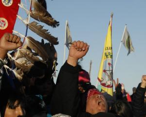 Victory celebrations were short lived for the Dakota pipeline protesters who will gear up to take...