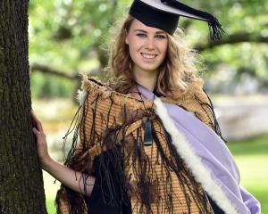 Te Kahui Tapsell (23) is one of 45 Maori medical students to graduate as doctors today.