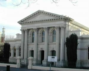The historic Oamaru Courthouse. Photo by ODT.
