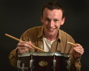 John McGlashan College pupil Christian Tucker. Photo: Peter McIntosh.