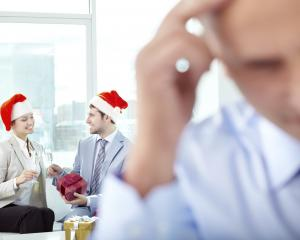 Work Christmas parties are not everybody's cup of tea. Photo: Getty Images