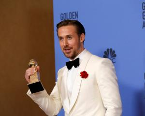 "Ryan Gosling received the best actor award for his role in ""La La Land"". Photo Reuters"