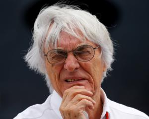 Bernie Ecclestone. Photo Reuters
