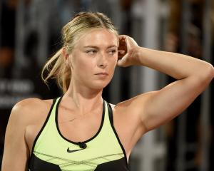 Maria Sharapova. Photo: Getty Images