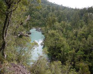 The Hokitika Gorge.
