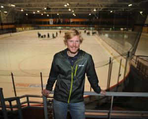 Dunedin Ice Stadium manager Paris Heyd (26) at the arena yesterday. Photo: Christine O'Connor.