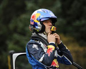 Sebastien Ogier. Photo Reuters