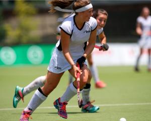 Tessa Jopp playing for the New Zealand side at the Junior World Cup in Chile late last year....