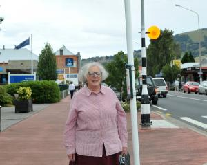 Lynne Hill, of Mosgiel is concerned about bus-stop changes for Mosgiel residents. Photo:...