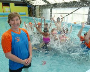 Wakatipu Swim School founder and coach Jane Hughes at the Queenstown Primary School pool...