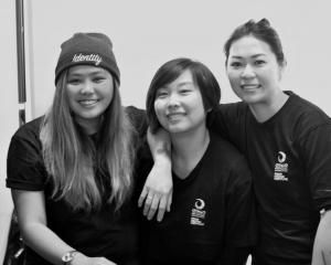 Introducing Running Hawker (from left), Mica Doc, Lucy Lu and Wenting Mere Cheung. Photos by Dani...