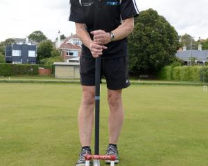 Chris Shilling, pictured at the Punga Croquet Club, has been named in the New Zealand team to...