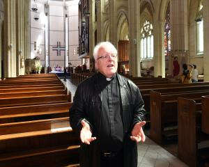 The Very Rev Dr Trevor James says the future of all Anglican parishes in Dunedin, including St...