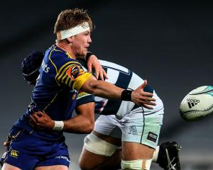 James Lentjes in action for Otago against Auckland in October last year. Photo Getty