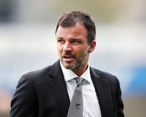 All Whites coach Anthony Hudson. Photo Getty