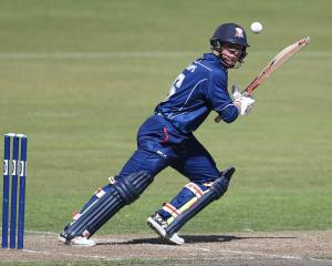Glenn Phillips in action for for Auckland against Otago during a recent Ford Trophy match in...