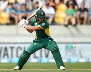 South Africa captain AB de Villiers became the fastest man to score 9000 one-day international...