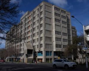 Dunedin Hospital.