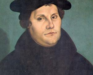 Martin Luther (1529), by Lucas Cranach the Elder.