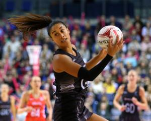 The Silver Ferns' Maria Tutaia. Photo Getty