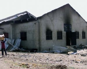 A burnt Christian church in Kaduna. Photo: ODT file
