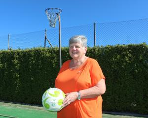 Lorraine Tapp, of Milton, was recognised for contribution to netball with a service award at the...