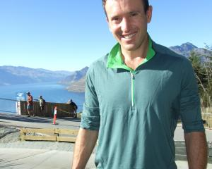 Adventure race world champion Chris Forne, of Queenstown, at the Godzone athletes' briefing in...