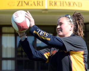 Sacha Nicolson, who is the new club captain of Zingari-Richmond, at the club this week. Photo:...